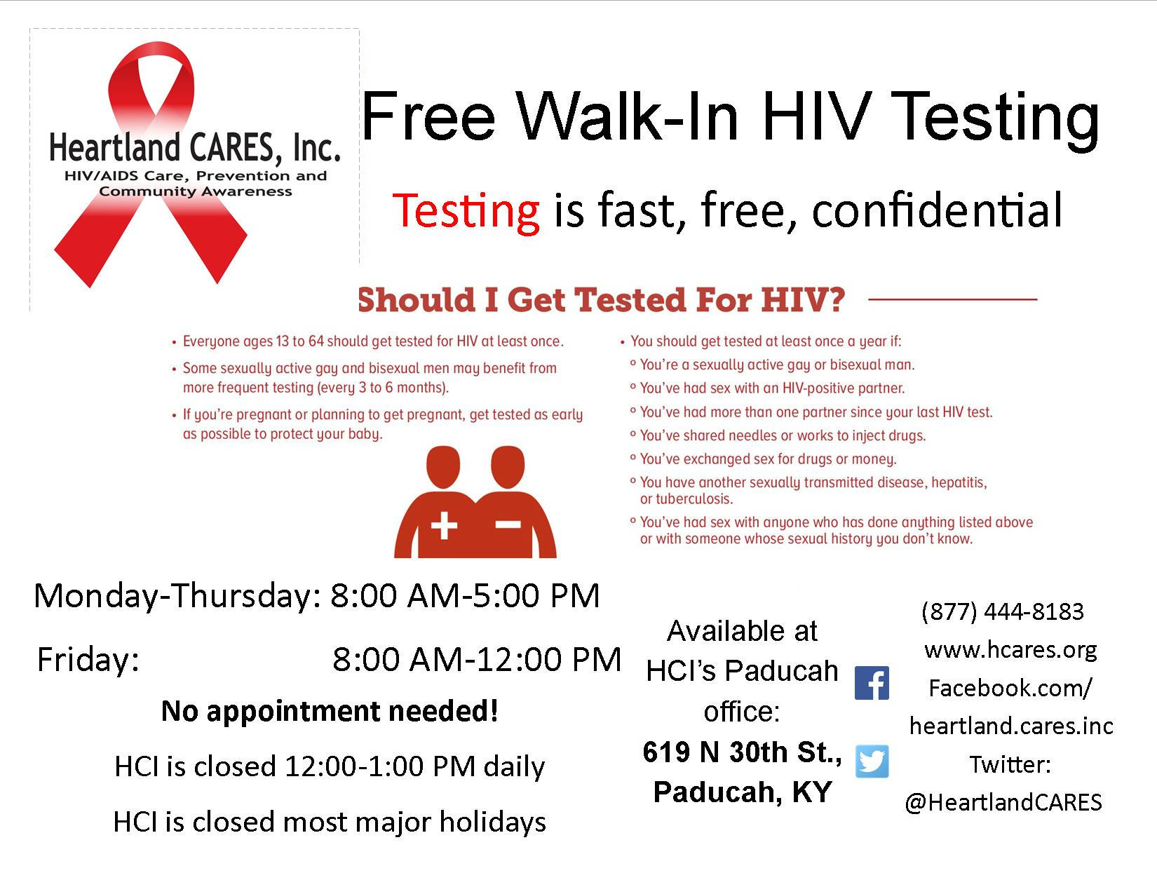 frequently asked questions about hiv testing | heartland cares